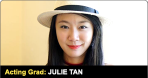New York Film Academy Producing Graduate Julie Tan