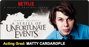 New York Film Academy Acting for Film Graduate Matty Cardarople
