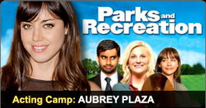 Acting Camp Graduate Aubrey Plaza