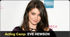 Acting Camp Graduate Eve Hewson