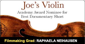 New York Film Academy Documentary Graduate Raphaela Neihausen