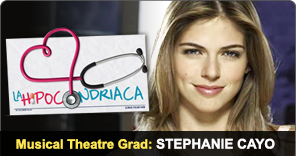 Musical Theatre Graduate Stephanie Cayo
