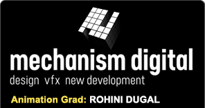 Animation grad Rohini Dugal works at Mechanism Digital