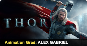 Animation Grad Alex Gabriel worked on Thor