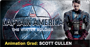 Animation Grad Scott Cullen worked on Captain America sequel