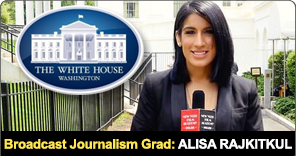 New York Film Academy Broadcast Journalism Graduate Alisa Rajkitkul