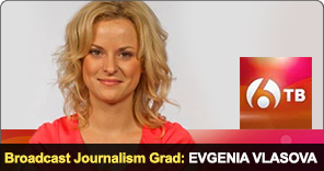 New York Film Academy Broadcast Journalism Grad Evgenia Vlasova