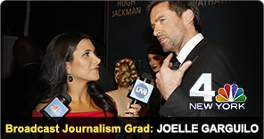 New York Film Academy Broadcast Journalism Grad Joelle Garguilo