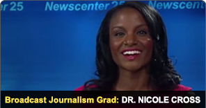 New York Film Academy Broadcast Journalism Grad Dr. Nicole Cross