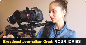 New York Film Academy Broadcast Journalism Grad Nour Idriss