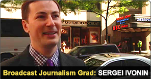 New York Film Academy Broadcast Journalism Grad Sergei Ivonin
