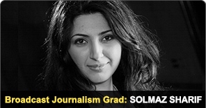 New York Film Academy Broadcast Journalism Grad Solmaz Sharif