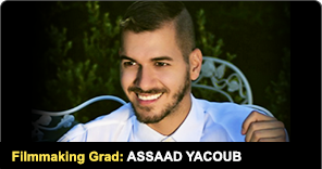 New York Film Academy Filmmaking Graduate Assaad Yacoub