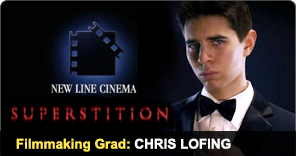 Filmmaking Graduate Chris Lofing