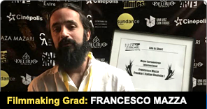 Filmmaking Grad Francesco Mazza