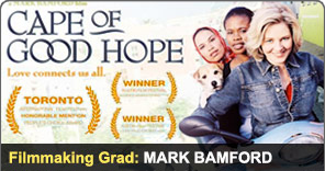 Filmmaking Graduate Mark Bamford