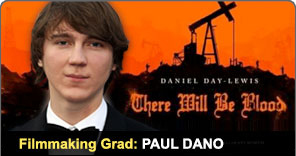 Filmmaking Graduate Paul Dano