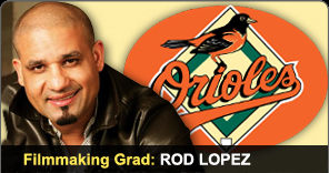 Filmmaking Graduate Rod Lopez