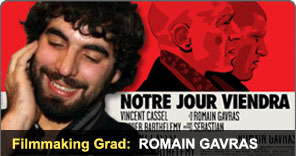 Filmmaking Graduate Romain Gavras
