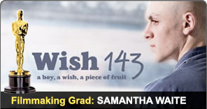 Filmmaking Graduate Samantha Waite