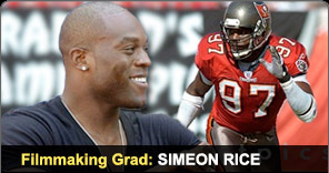 Filmmaking Graduate Simeon Rice