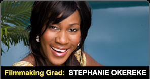 Filmmaking Graduate Stephanie Okereke