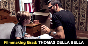 New York Film Academy Filmmaking Graduate Thomas Della Bella