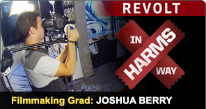 Filmmaking Graduate Joshua Berry