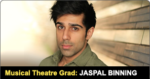 New York Film Academy Musical Theatre Graduate Jaspal Binning