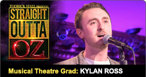 Musical Theatre Grad Kylan Ross