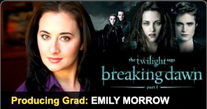 Producing Graduate Emily Morrow