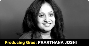 New York Film Academy Producing Graduate Prarthana Joshi