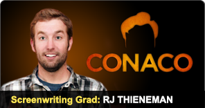 Screenwriting Graduate RJ Thieneman