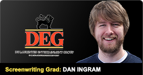 New York Film Academy Screenwriting Graduate Dan Ingram