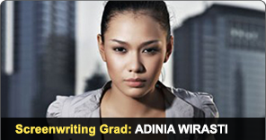 New York Film Academy Screenwriting Grad Adinia Wirasti