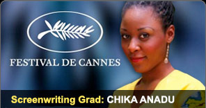 Screenwriting Graduate Chika Anadu