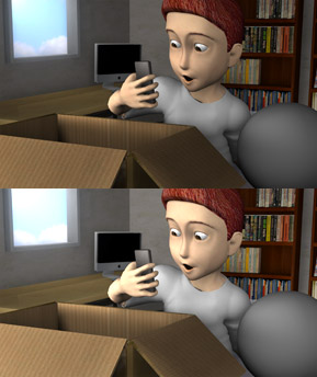 An original 3D animated character made in NYFA's 4-Week Workshop
