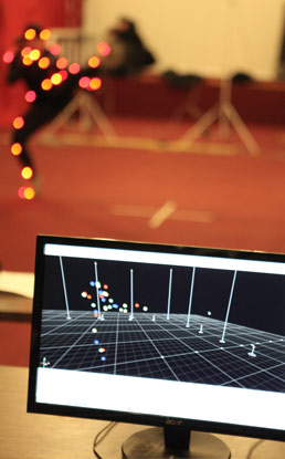 Using motion capture technology in NYFA's animation programs