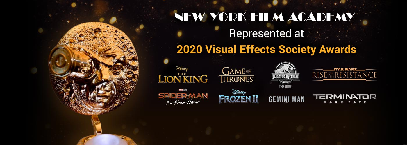 New York Film Academy Represented at 2020 Visual Effects Society Awards