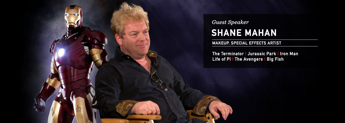 Shane Mahan is a NYFA guest speaker