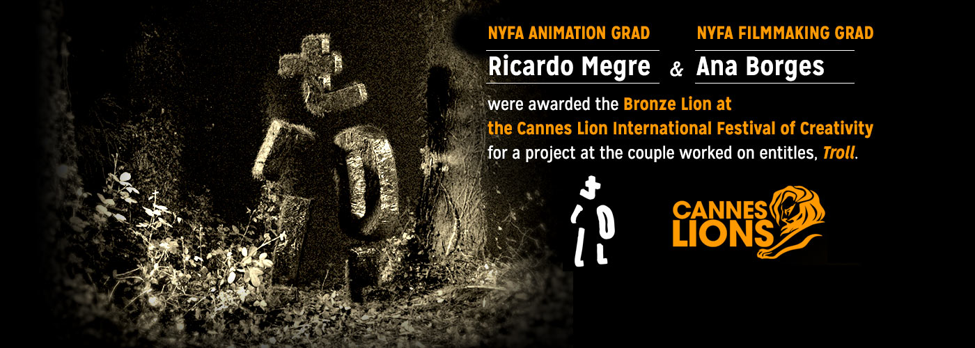 NYFA animation grads Ricardo Megre and Ana Borges