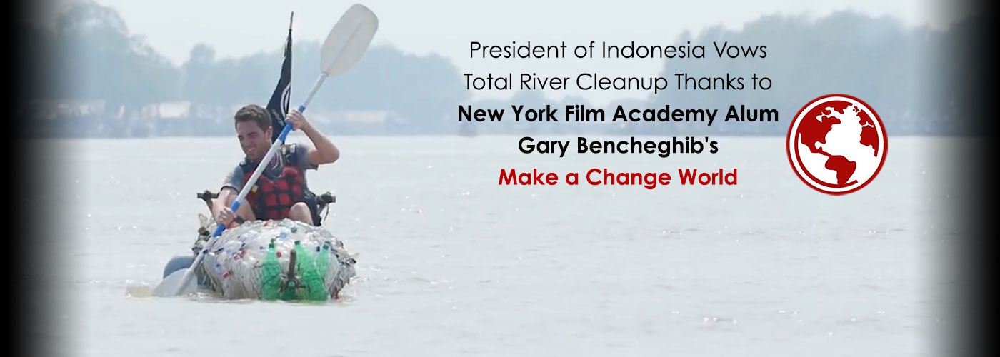 President of Indonesia Vows Total River Cleanup Thanks to NYFA Alum Gary Bencheghib