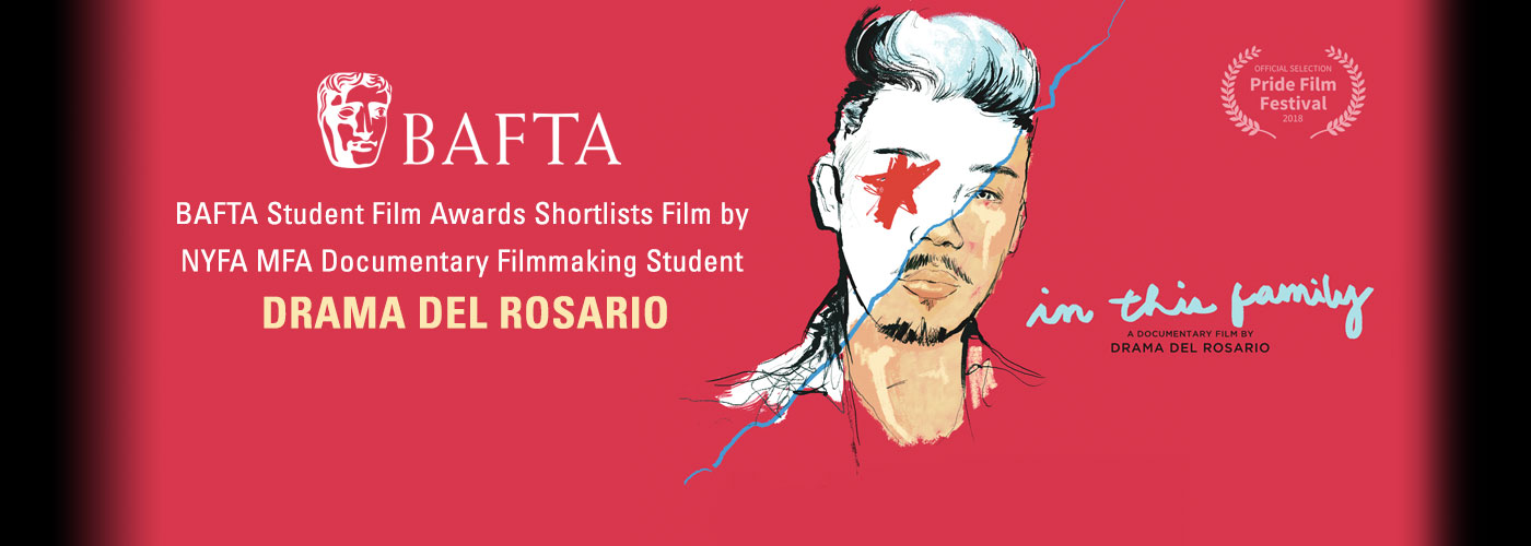 BAFTA Student Film Awards Shortlists Film by New York Film Academy MFA Documentary Filmmaking Student Drama Del Rosario