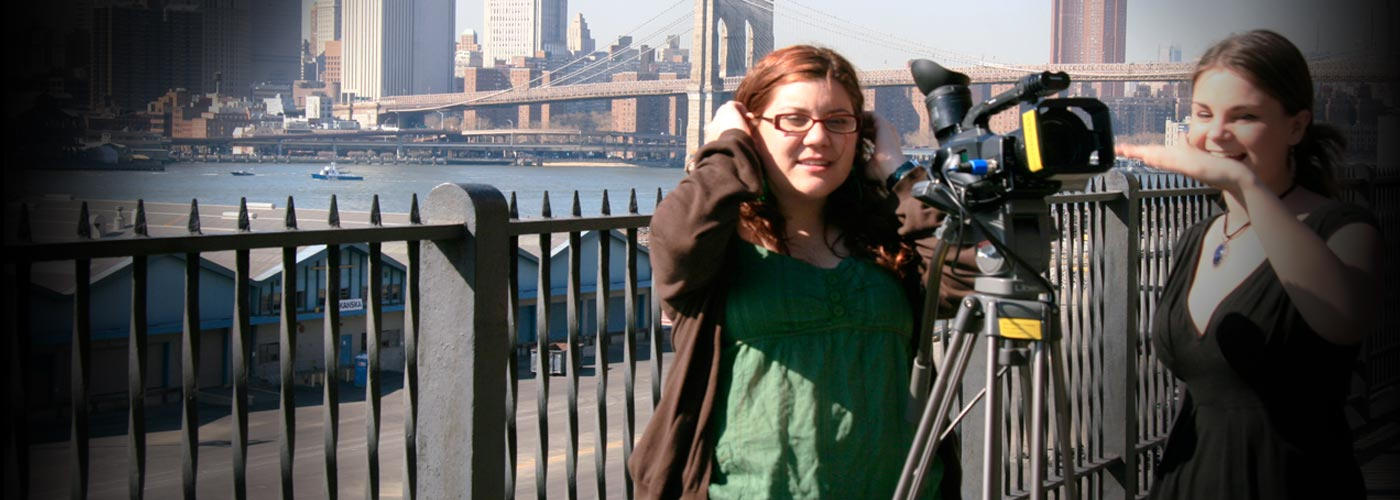 NYFA documentary students outdoor scene
