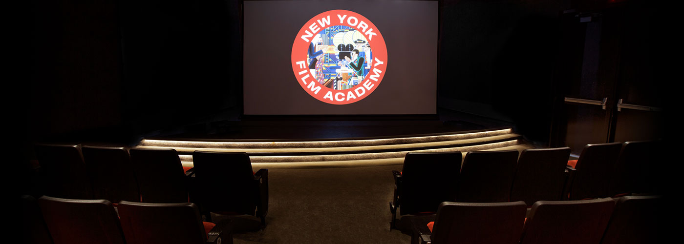 Stage at the NYFA theatre