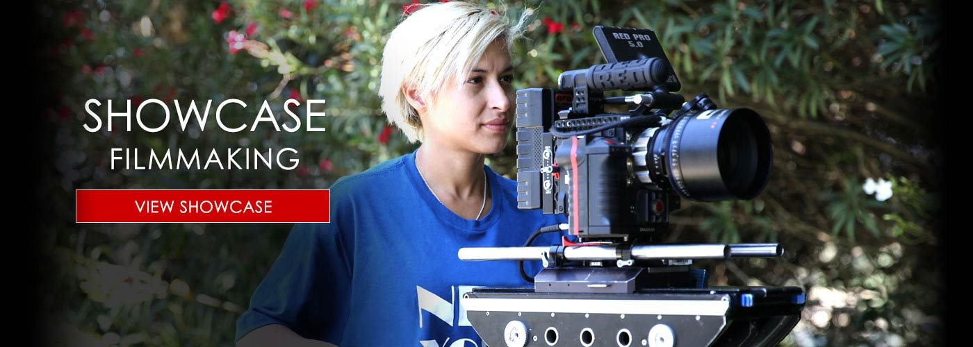 NYFA filmmaking student uses RED camera