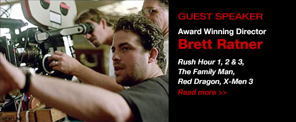 NYFA Guest Speaker Award Winning Director Brett Ratner