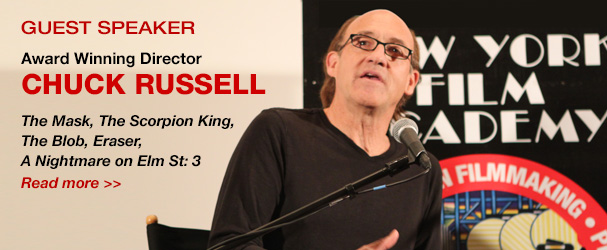 NYFA Guest Speaker Award Winning Director Chuck Russell