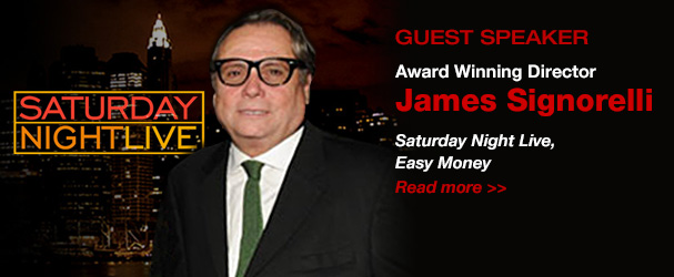 NYFA Guest Speaker Award Winning Director James Signorelli
