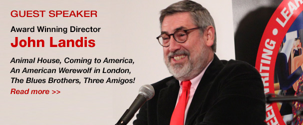 NYFA Guest Speaker Award Winning Director John Landis